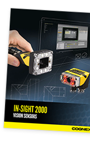 In-Sight 2000 Vision Sensors Product Guide