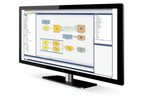 cognex designer software on computer monitor