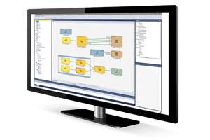 cognex designer software on computer monitor