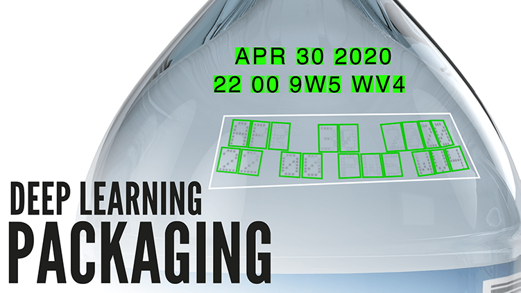 Deep Learning Packaging OCR Date lot Code