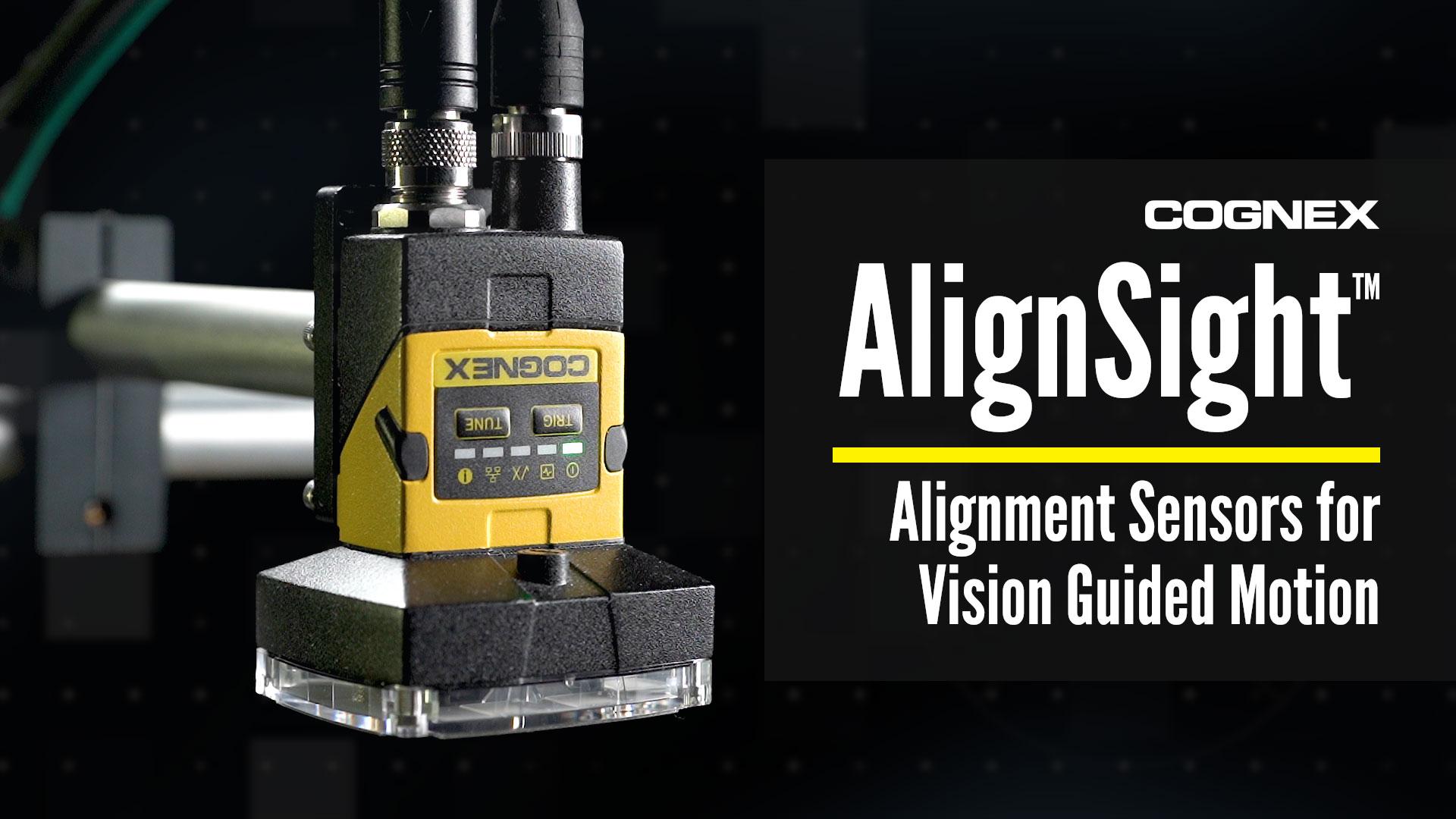 Cognex AlignSight Alignment Sensor Video Preview