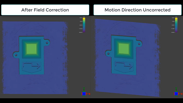 Field Correction on the In-Sight 3D-L4000