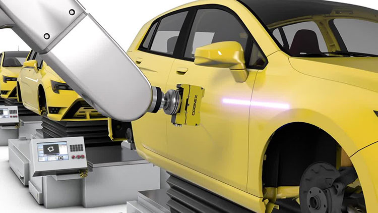 3D machine vision system inspecting gap and flush on car door
