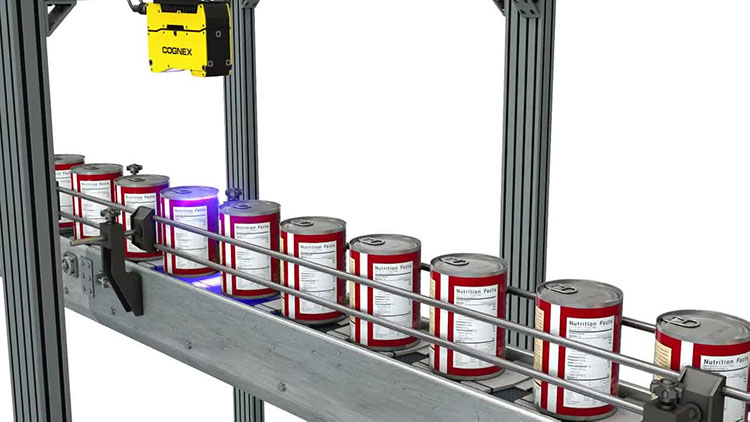 3D vision system inspects aluminum cans for defects