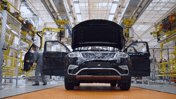 Automotive Assembly in factory