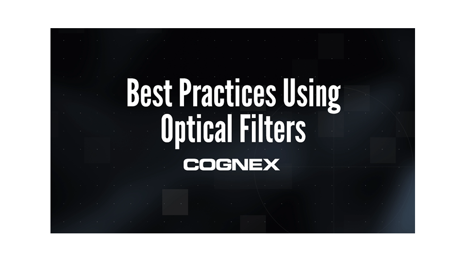 Best Practices Using Optical Filters