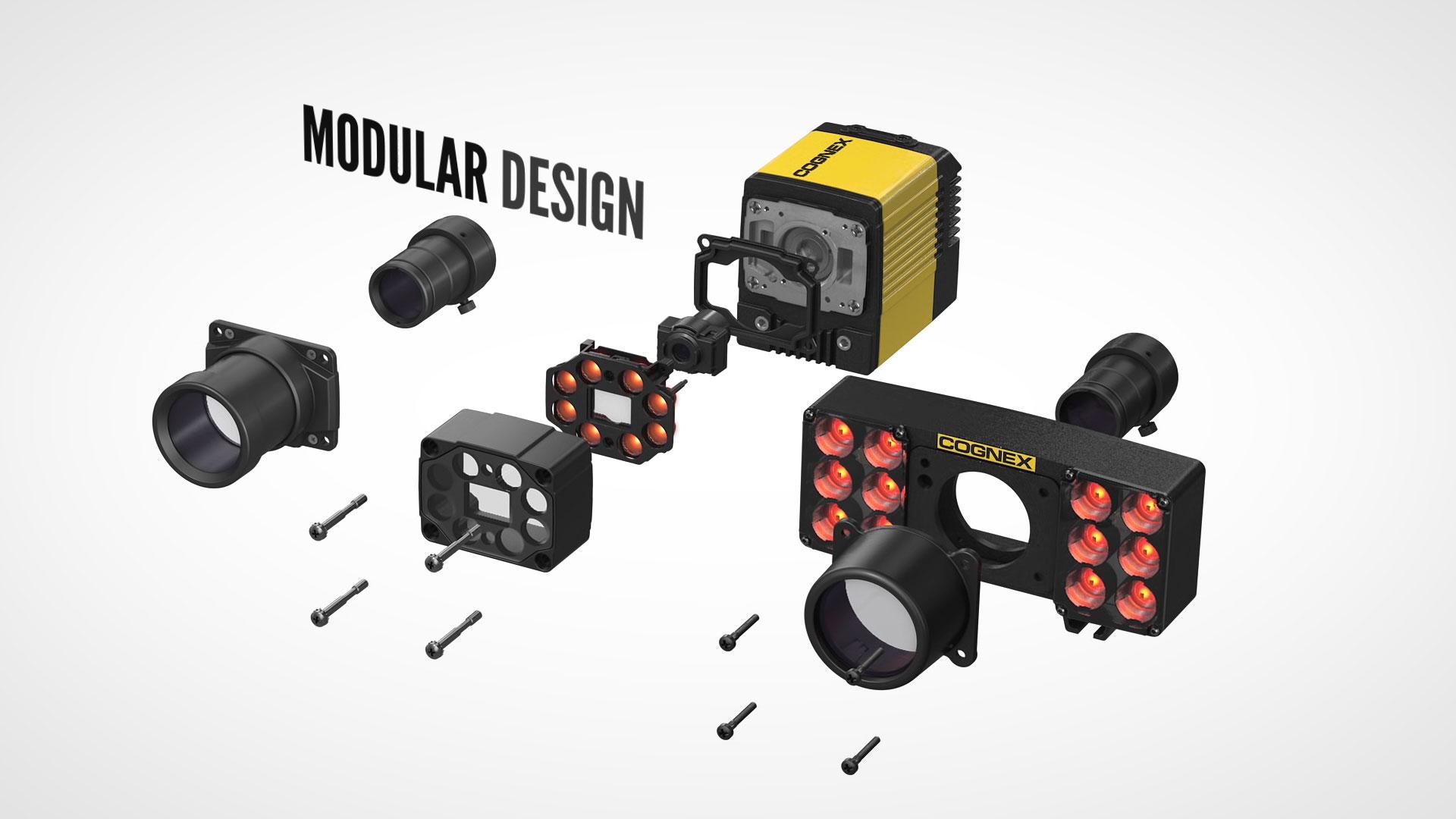 DataMan 470 Series modular design of available parts