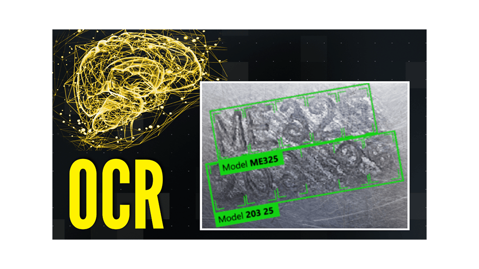 OCR with Cognex Deep Learning