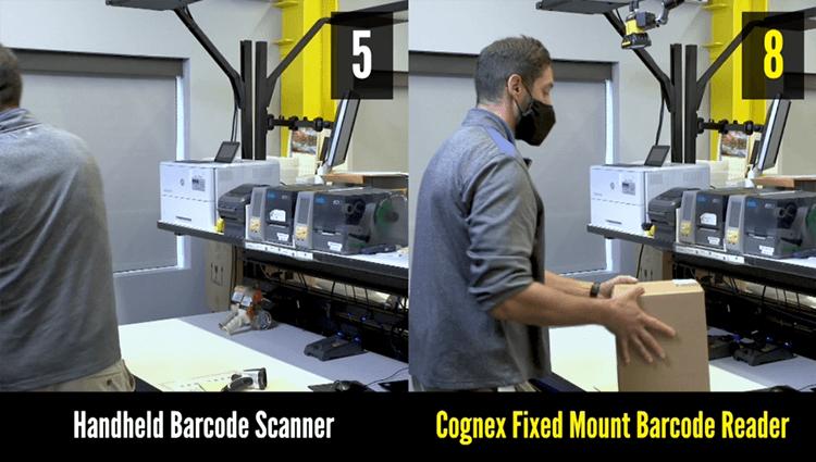 Fixed Mount versus Handheld Barcode Reading Demo