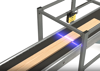 cognex 3d-l4000 inspects wooden floor plank