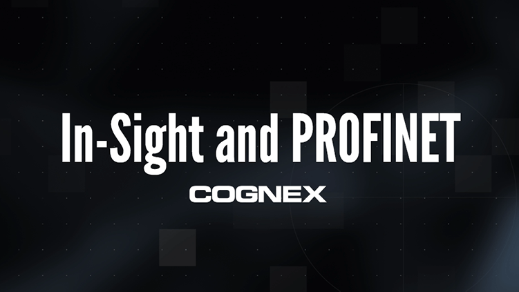 In-Sight and PROFINET