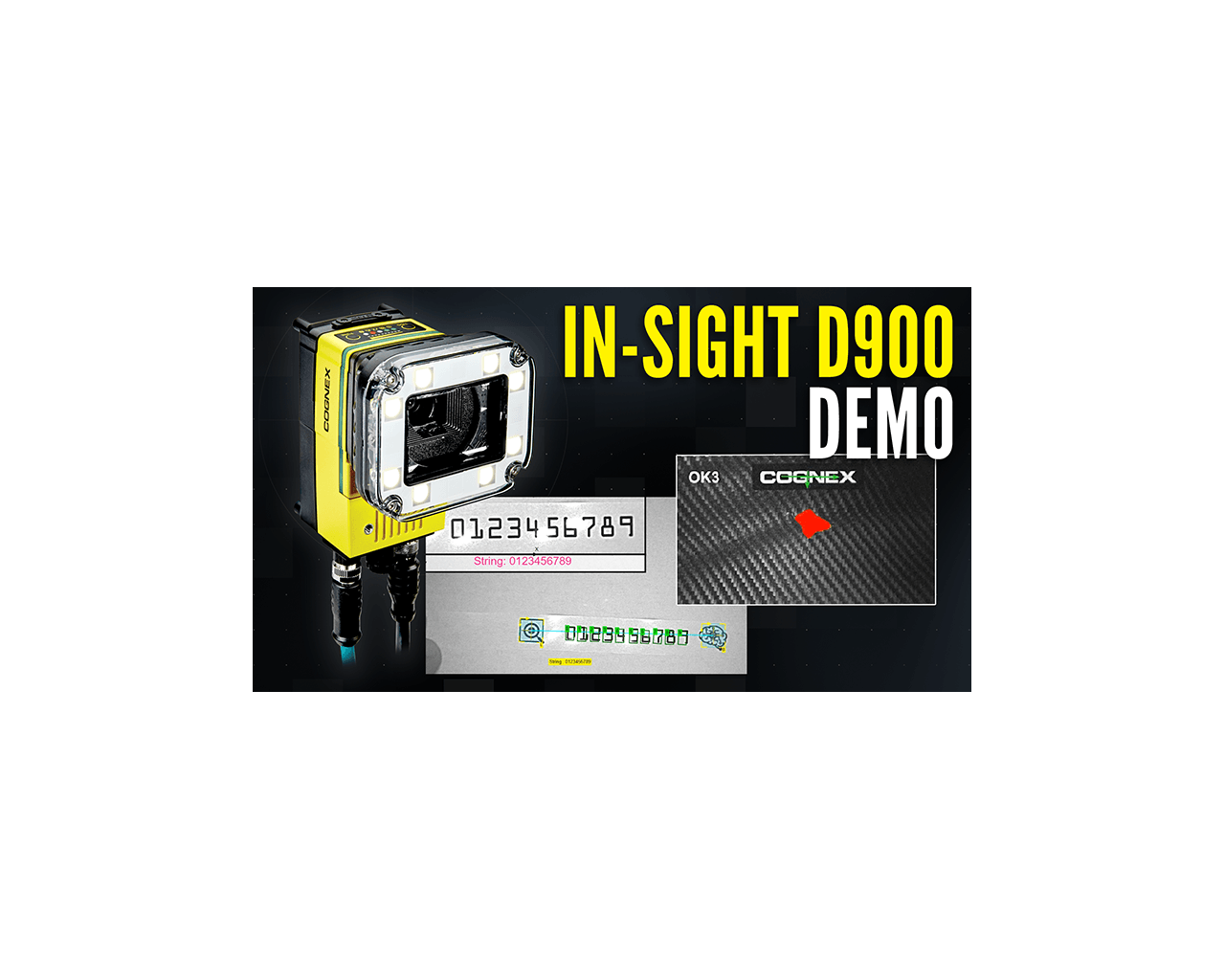 In-Sight D900 Product Demonstration