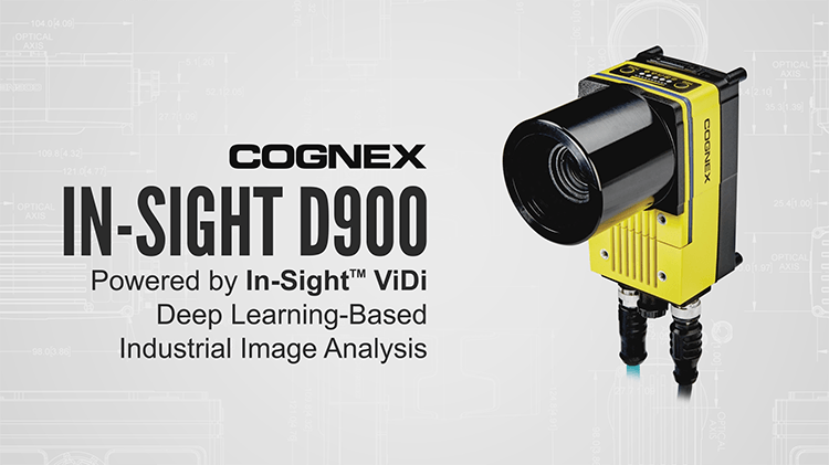 cognex in-sight d900 from side