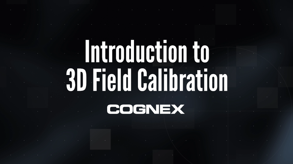 Introduction to 3D Field Calibration