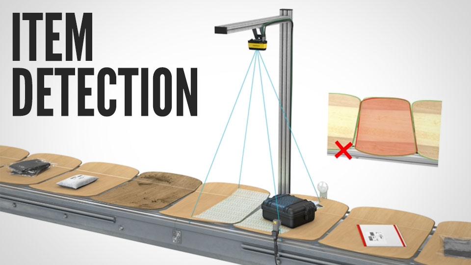 Item Detection with Logistics 3D-A1000