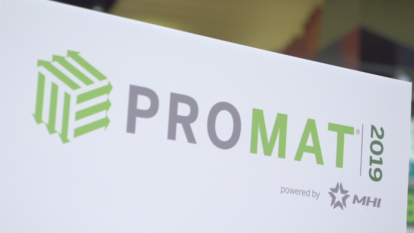 ProMat 2019 banner