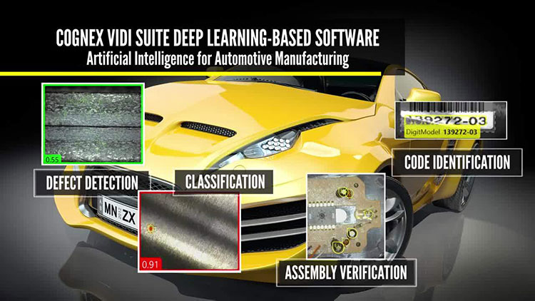 automotive defect detection with vidi deep learning software